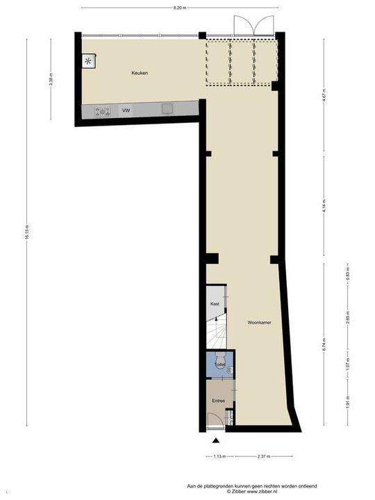 Harmenkokslaan 56, Delft plattegrond-0