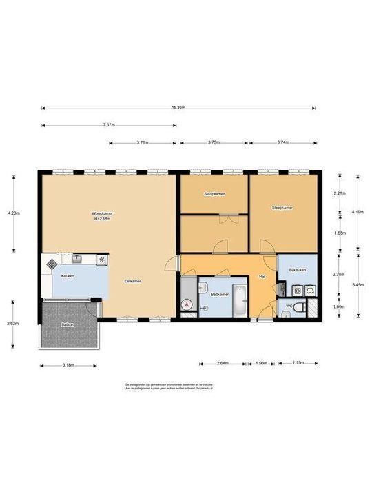 Bastiaansplein 51, Delft plattegrond-0