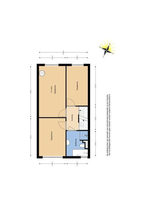 Van Veendijk 9, Den Haag plattegrond-1