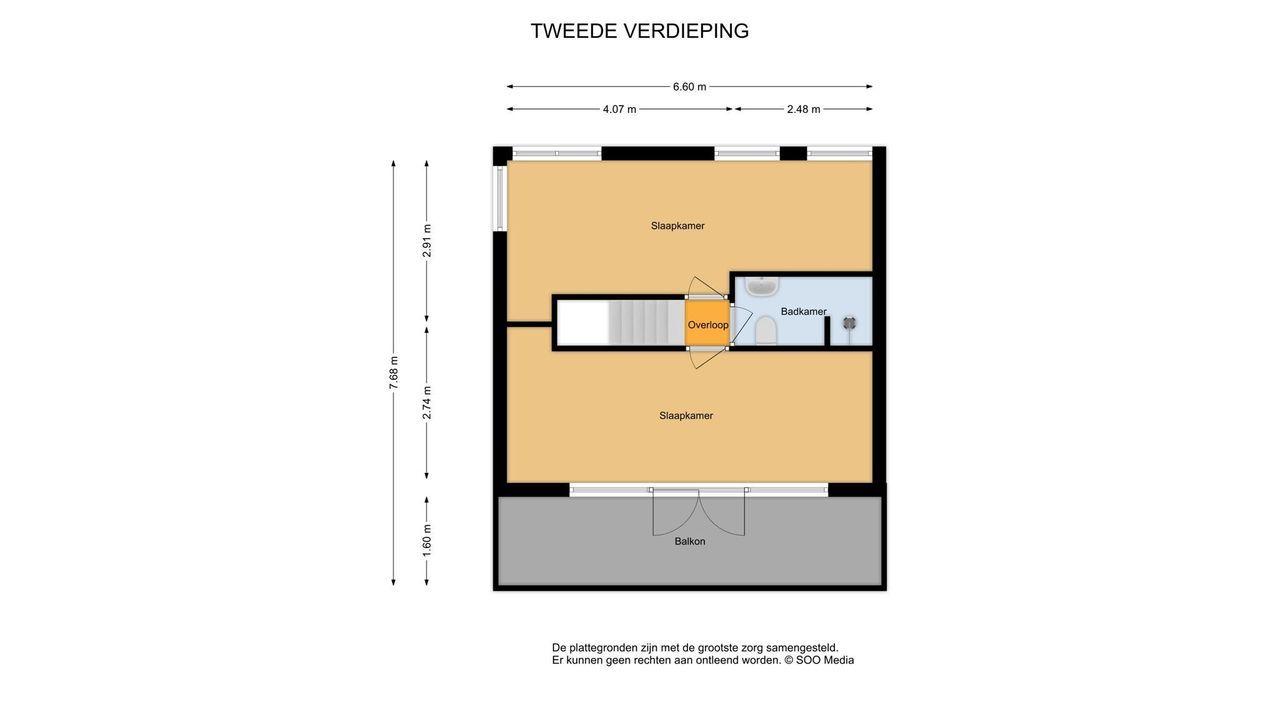 Lausbergstraat 51, Delft plattegrond-2