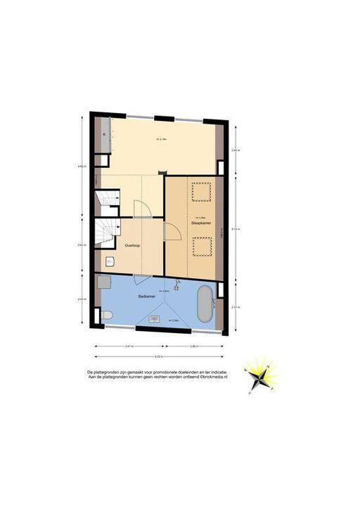 Nieuwe Langendijk 80 82, Delft plattegrond-2