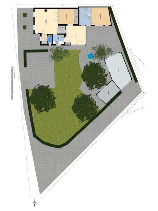 Nieuwelaan 182, Delft plattegrond-0