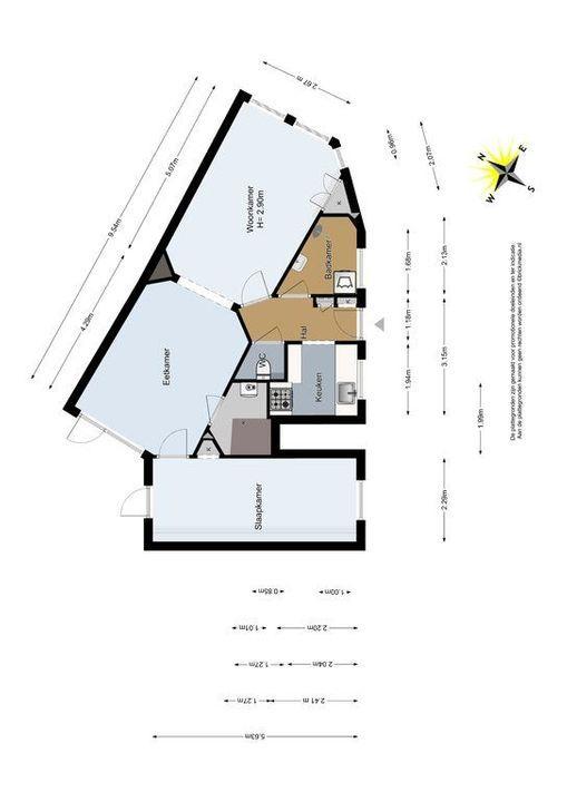 Simonsstraat 2, Delft plattegrond-0