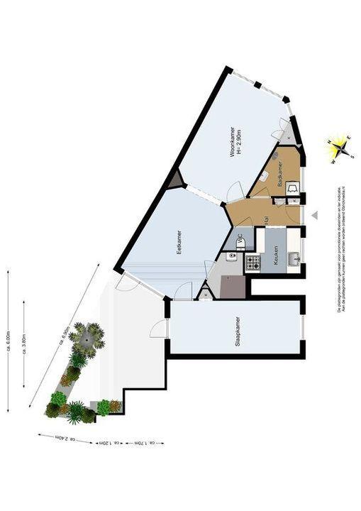 Simonsstraat 2, Delft plattegrond-1