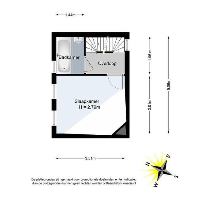 Caspar Fagelstraat 2, Delft plattegrond-1