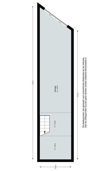 Delfgauwseweg 69, Delft plattegrond-3