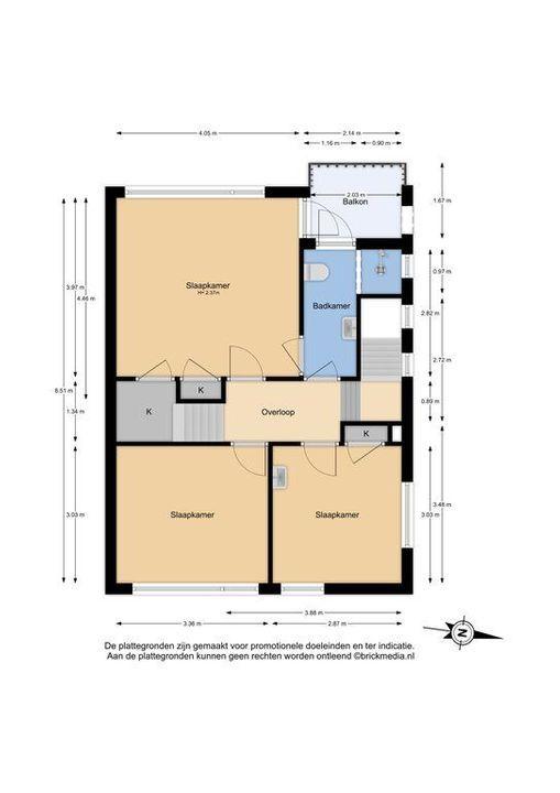 Koetlaan 19, Delft plattegrond-1