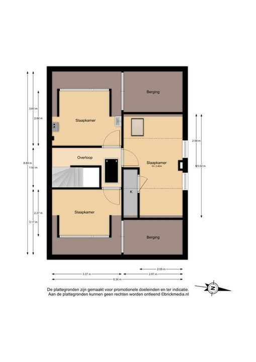 Koetlaan 19, Delft plattegrond-2