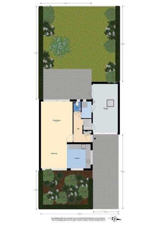 Koetlaan 19, Delft plattegrond-4