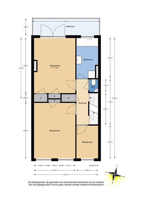 Mijnbouwplein 5, Delft plattegrond-2