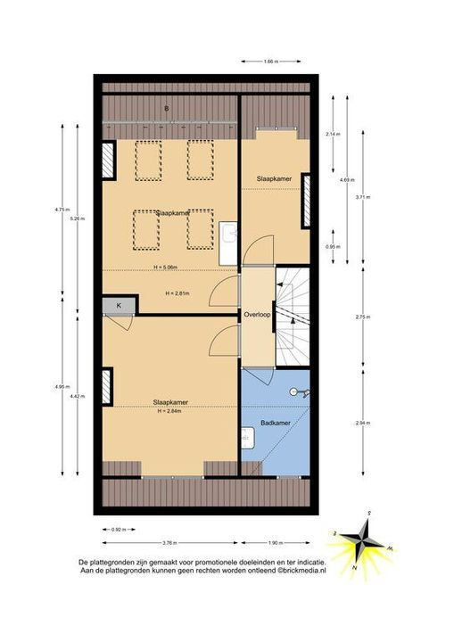 Mijnbouwplein 5, Delft plattegrond-3