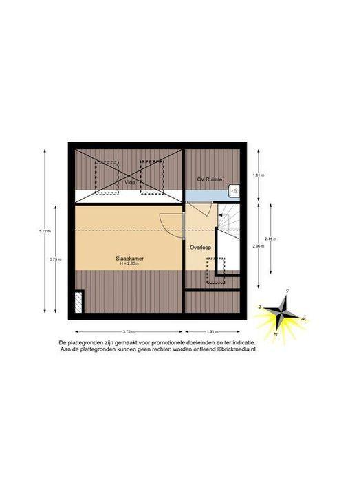 Mijnbouwplein 5, Delft plattegrond-4