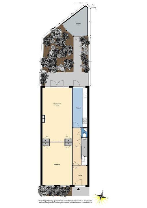 Mijnbouwplein 5, Delft plattegrond-0