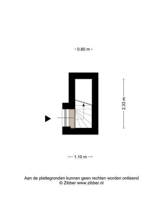 Koningsplein 85 C, Delft plattegrond-0