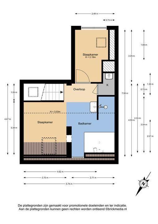 Van der Mastenstraat 43, Delft plattegrond-1