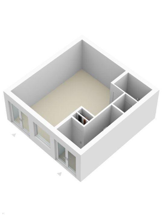 Molslaan 2 A, Delft plattegrond-4