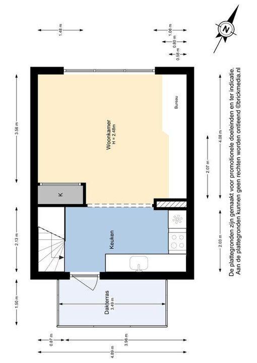 Azielaan 248, Delft plattegrond-1