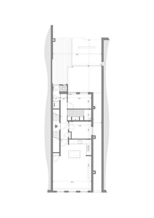 Oude Langendijk 22 a, Delft plattegrond-1
