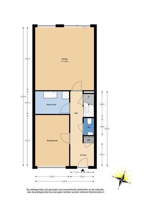 Machteld van Meterenlaan 14, Delft plattegrond-0