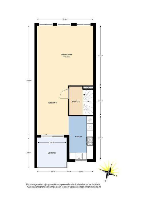 Machteld van Meterenlaan 14, Delft plattegrond-1