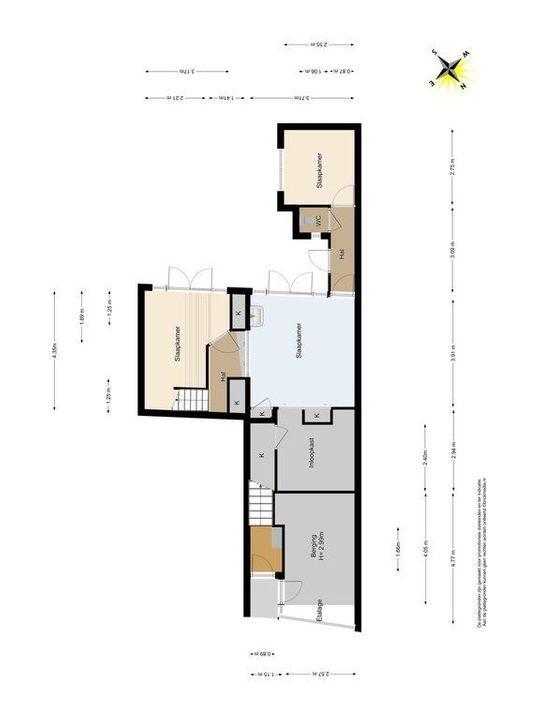 Noordeinde 65, Delft plattegrond-0