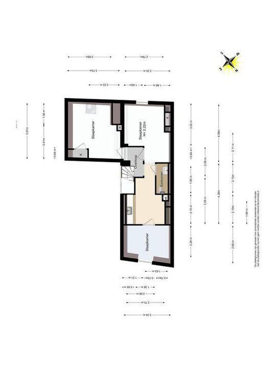 Noordeinde 65, Delft plattegrond-2