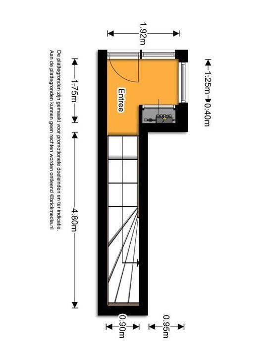 Molslaan 2 A, Delft plattegrond-0