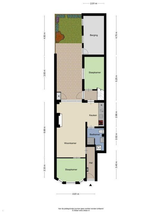 Piet Heinstraat 27, Delft plattegrond-2