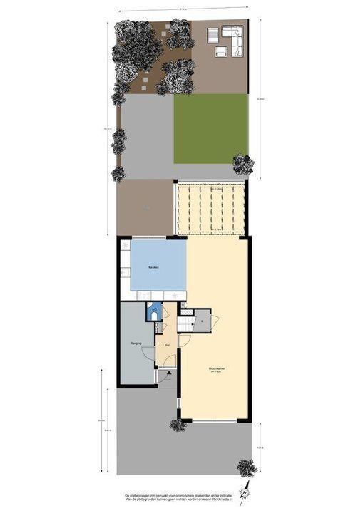 Burgemeestersrand 39, Delft plattegrond-3