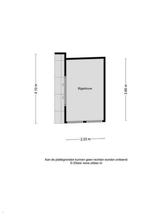 Cornelis Trompstraat 40, Delft plattegrond-1