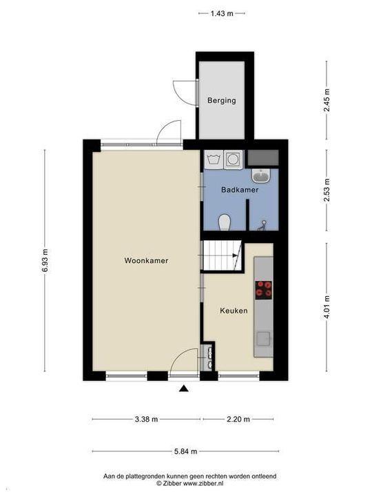 Spieringstraat 6, Delft plattegrond-0