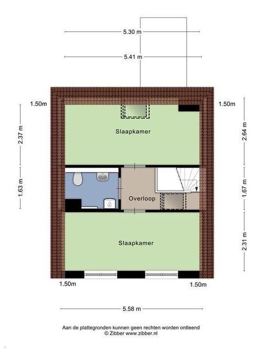 Spieringstraat 6, Delft plattegrond-1