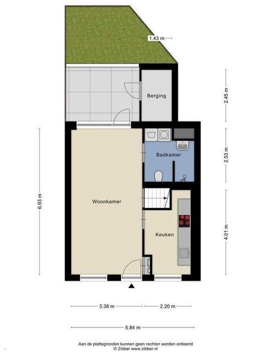 Spieringstraat 6, Delft plattegrond-2