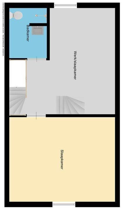 Van Veendijk 21, Den Haag plattegrond-2