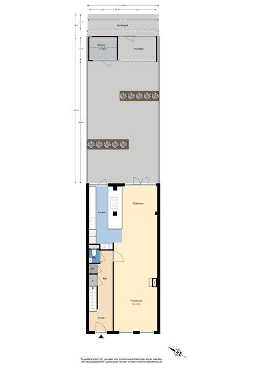 Oostsingel 111, Delft plattegrond-4