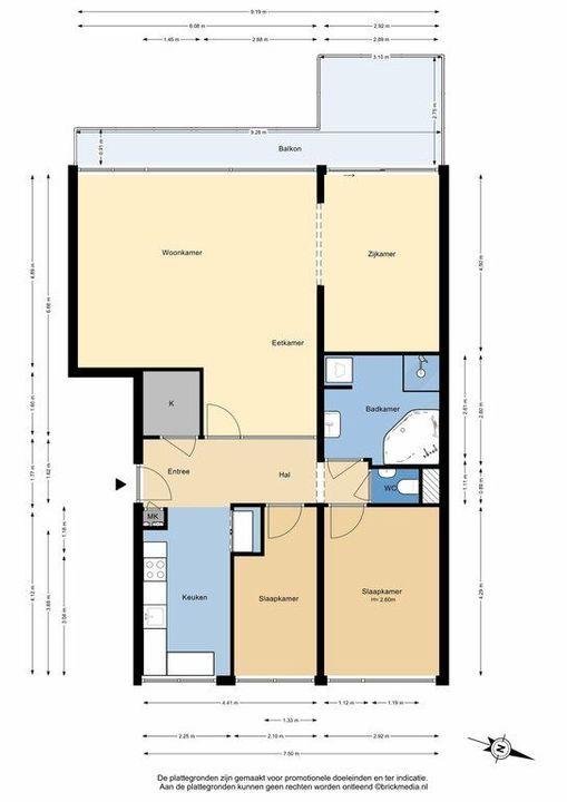 Aart van der Leeuwlaan 156, Delft plattegrond-0