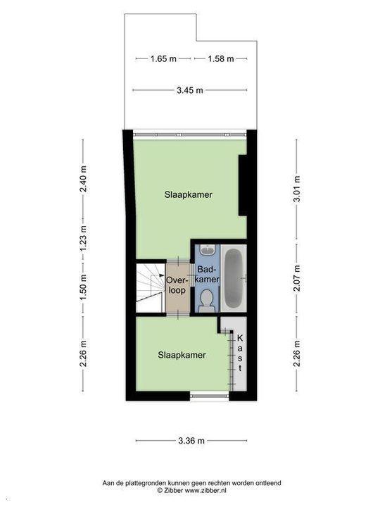Van Bleyswijckstraat 45, Delft plattegrond-1
