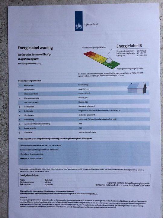 Wethouder Sonneveldhof 54, Delfgauw plattegrond-0