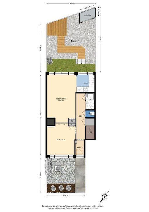 Ternatestraat 74, Delft plattegrond-0