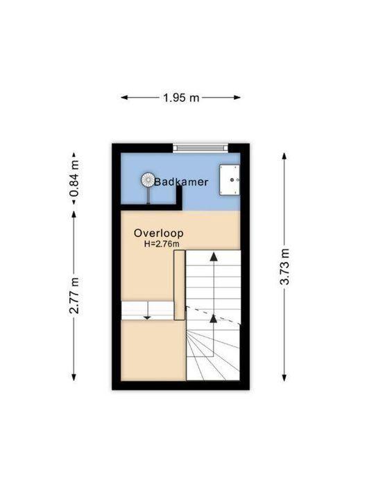 Ternatestraat 74, Delft plattegrond-2