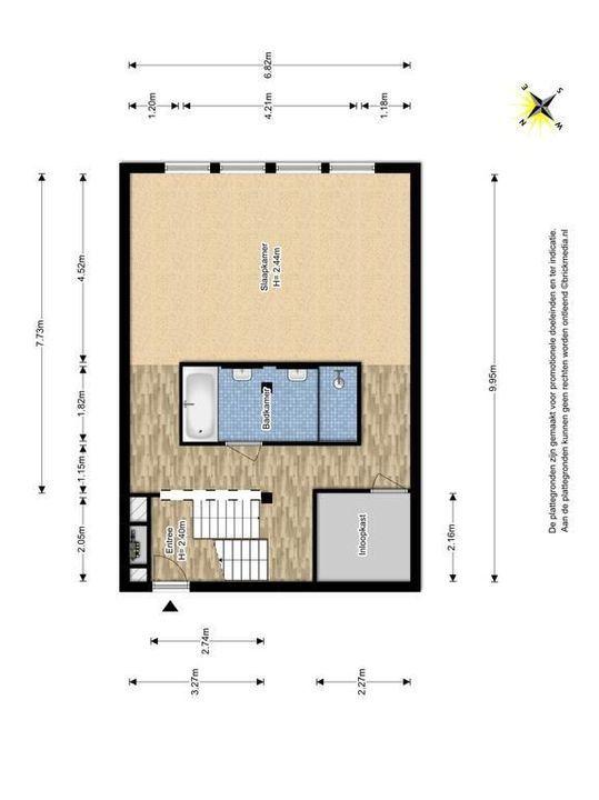 Raam 176, Delft plattegrond-0