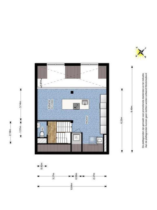 Raam 176, Delft plattegrond-2