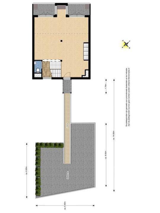 Raam 176, Delft plattegrond-3