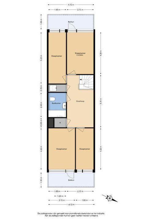 Zjoekowlaan 27, Delft plattegrond-0