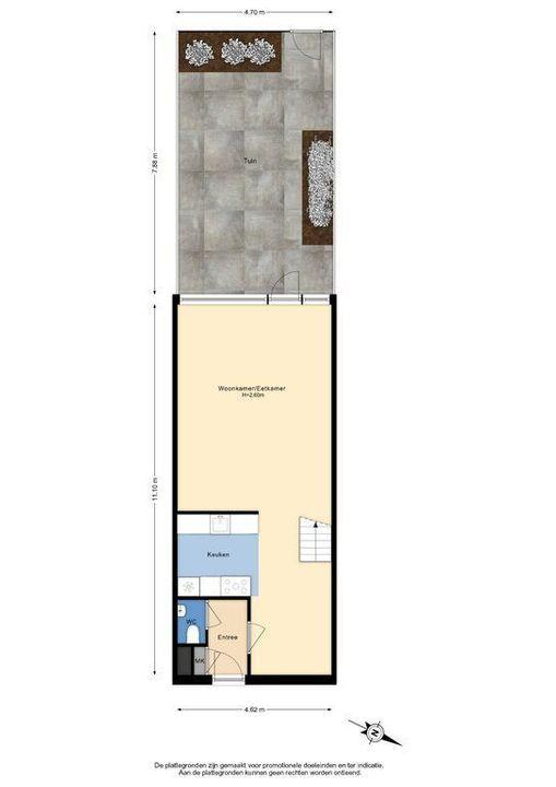 Zjoekowlaan 27, Delft plattegrond-3