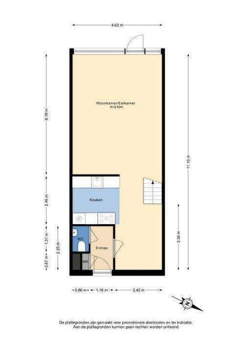 Zjoekowlaan 27, Delft plattegrond-2