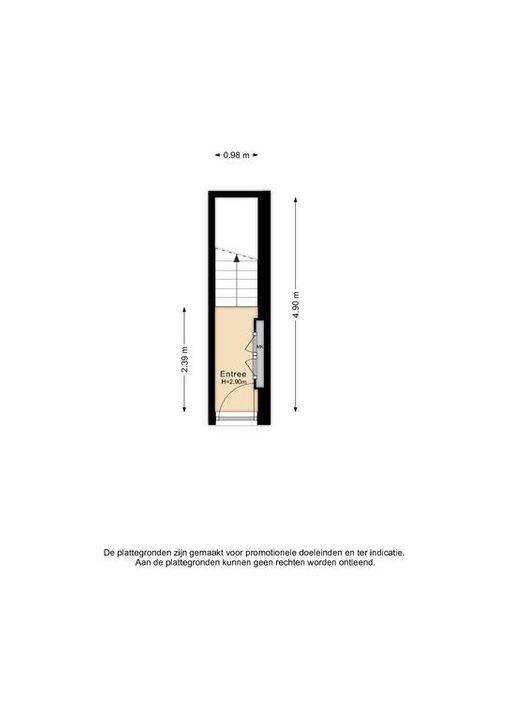 Botaniestraat 8, Delft plattegrond-2