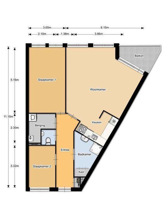 Padmoes 35, Delfgauw plattegrond-0