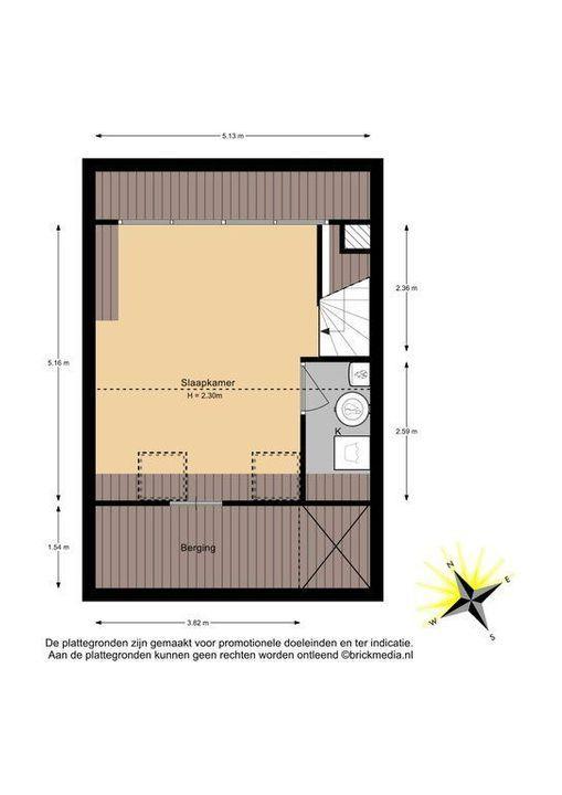 Oostsingel 31, Delft plattegrond-2