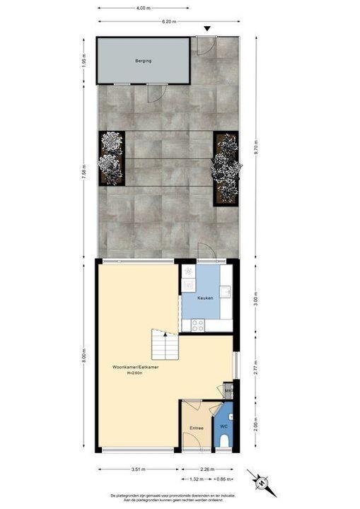 Multatuliweg 18, Delft plattegrond-3